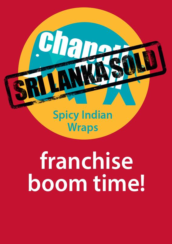 Chapati Man franchise SRI LANKA SOLD